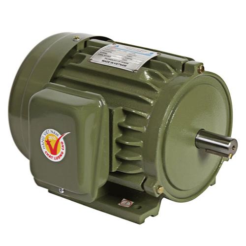 Motor vỏ gang chân đế Hồng Ký HKM112