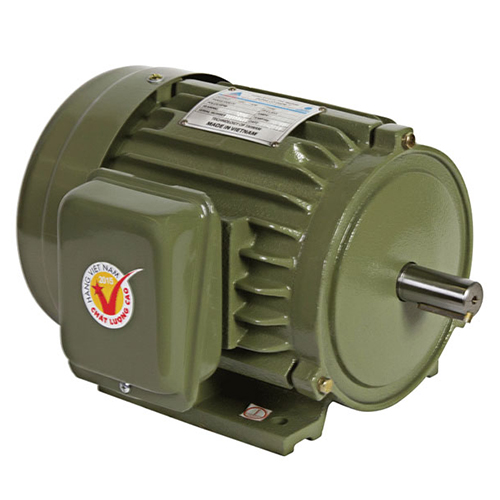 Motor vỏ gang chân đế Hồng Ký HKM212